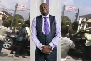 Actor Segun Arinze Beats Up Houseboy For Driving His Car Without Permission (Video)